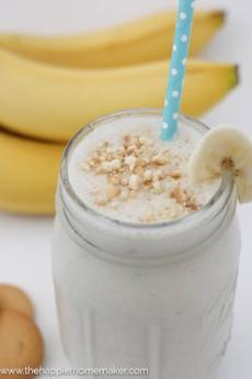 Banana Pudding protein shake