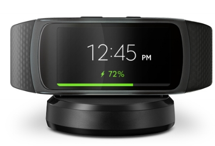 samsung gear fit2 charging