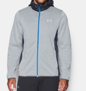 Under Armor Swacket Gray and Blue