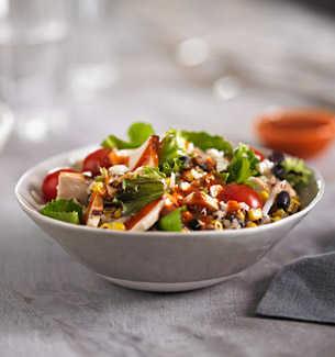 Zesty Chicken & Black Bean Salad