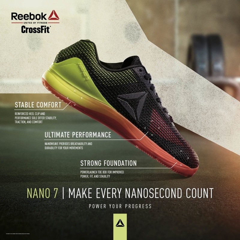 Reebok Nano 7 Review — GYMCADDY