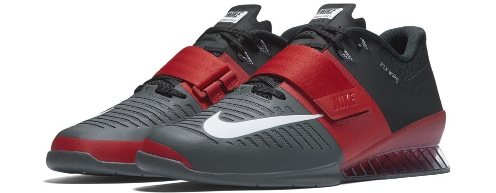 Red Black Nike Romaleos 3