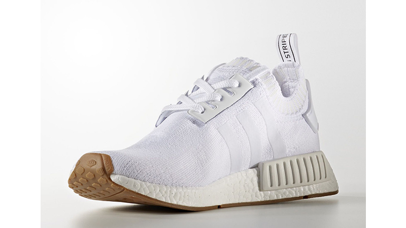 Adidas White NMD R1 Gum Pack Review — GYMCADDY