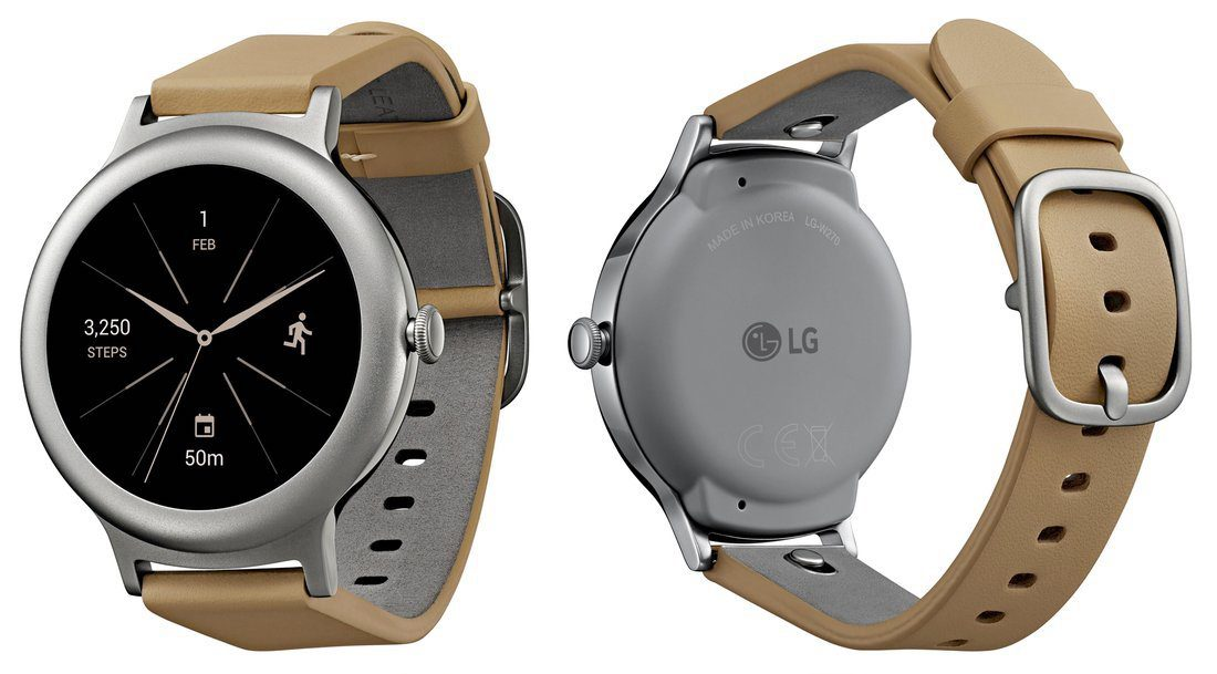 Lg Watch Style Brown