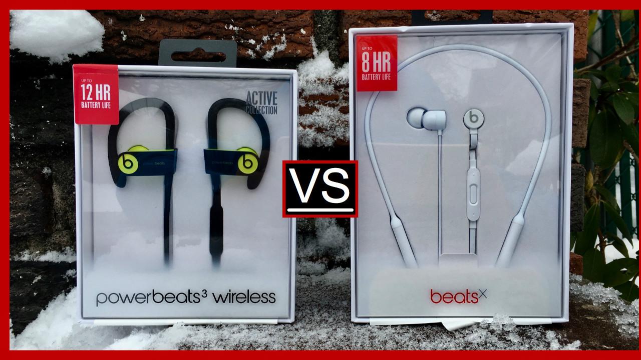 Powerbeats 3 vs Beats x