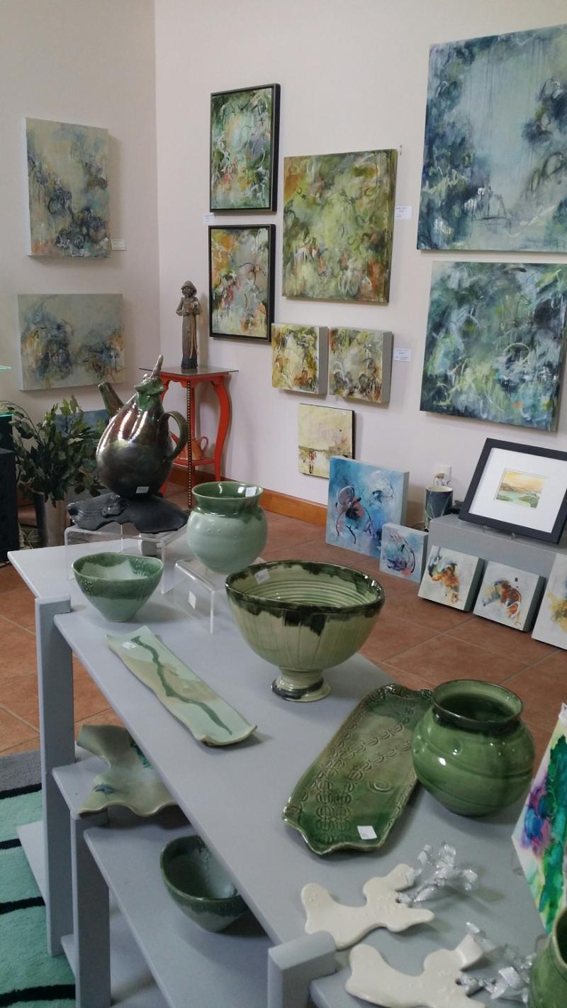 Inside the  Lambeth Marshall Studio Gallery,  2307 Waxhaw Marvin Road, Waxhaw, NC 28173