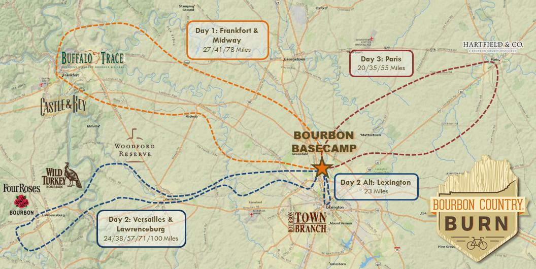 Get registered over at:  bourboncountryburn.com