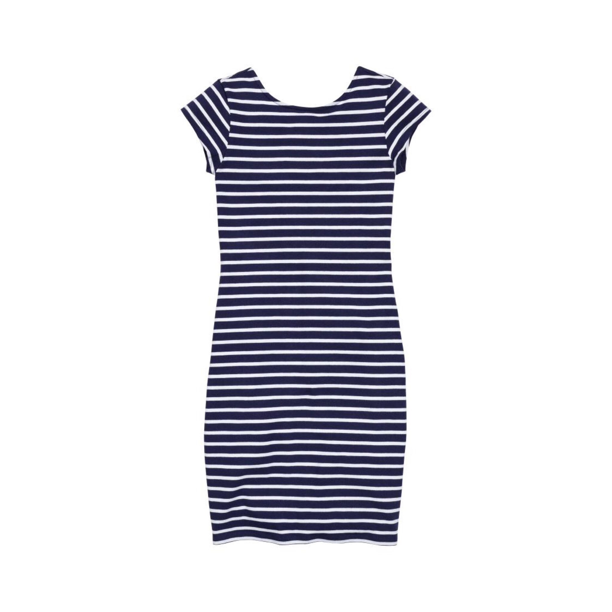 H&M striped dress ... I always have a striped dress in my summer wardrobe, you can dress them up or down and they are super easy and comfy. I bought one similar to this one from H&M