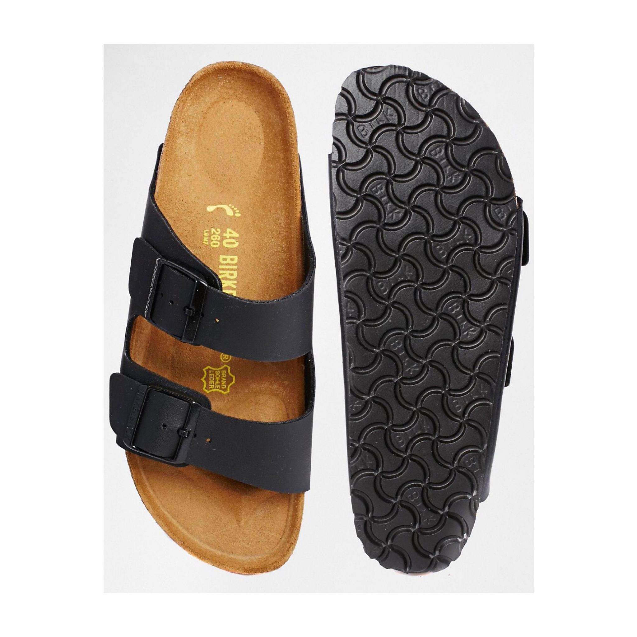 Birkenstocks ... I LOVE my Birkenstocks, the comfiest of all summer footwear! I find they come up big so I ordered size 4 / 37 euro even though I'm a size 5.5 and mine fit perfectly.