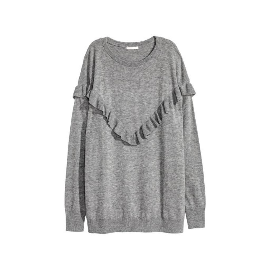 H&M oversized jumper £49.99