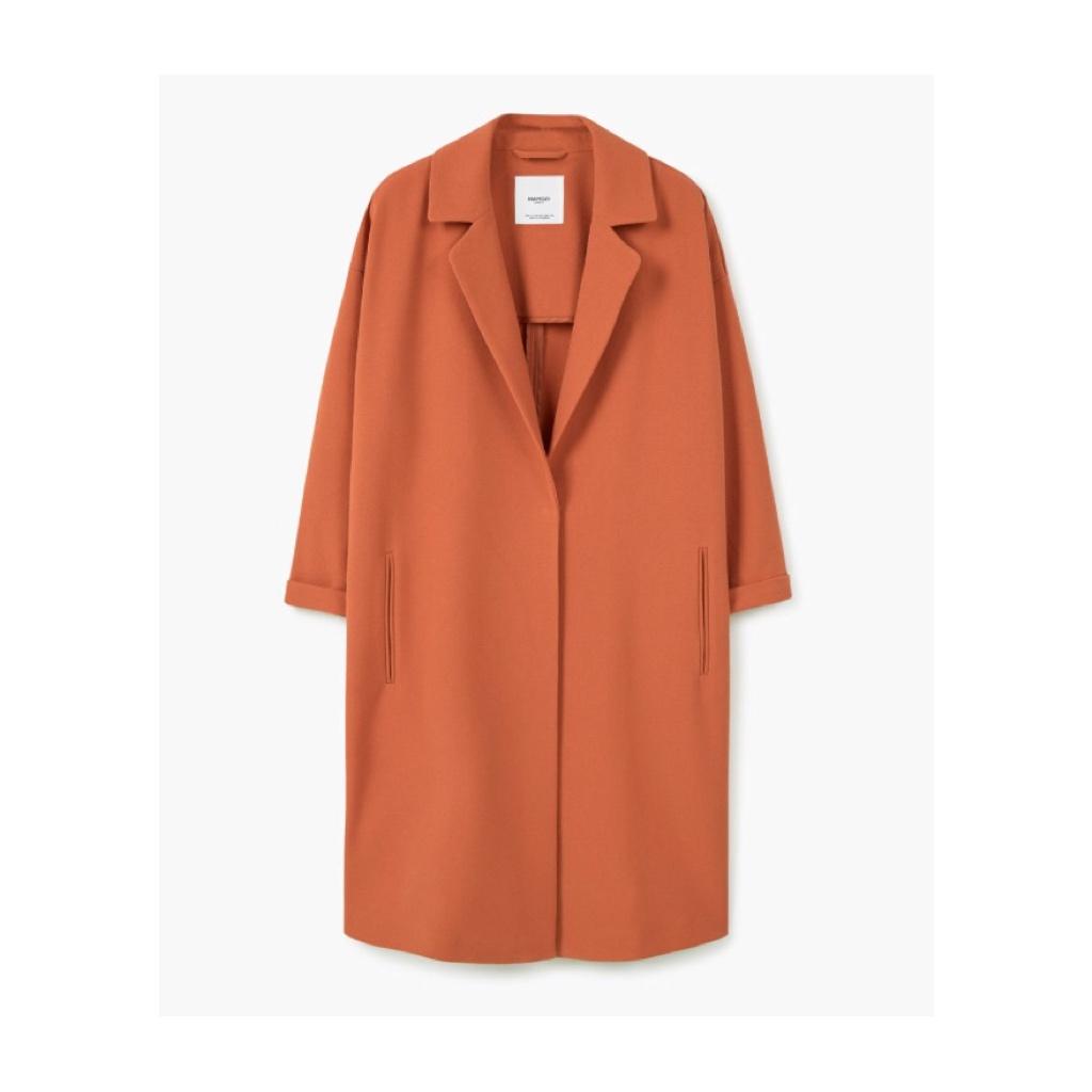 Mango lapel shift coat £49.99