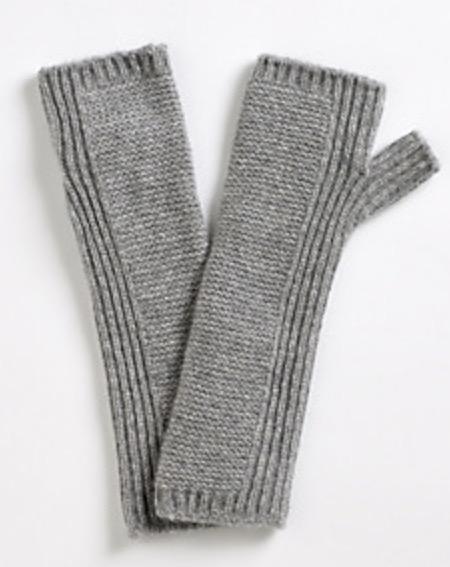 White Company cashmere wrist warmers - £55