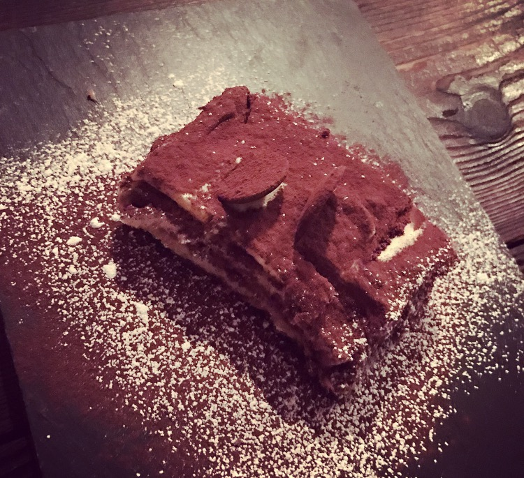 The tiramisu at Pi 😍 - they're not only great at pizza!