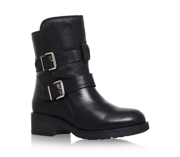Kurt Geiger - Richmond Boot  - £230 Very similar to the Jimmy Choo biker boots, my top pick.