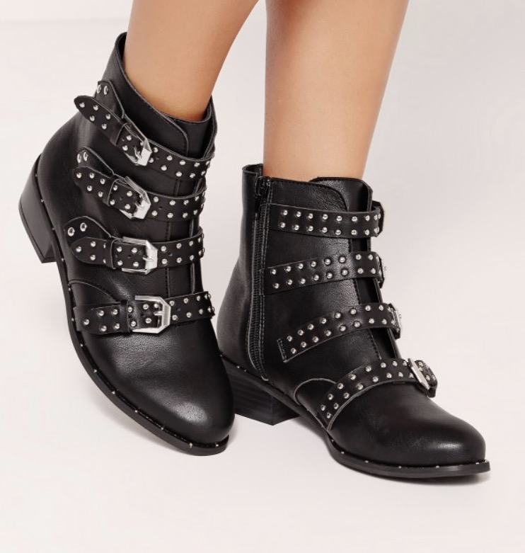Missguided  - Studded ankle boot - £45