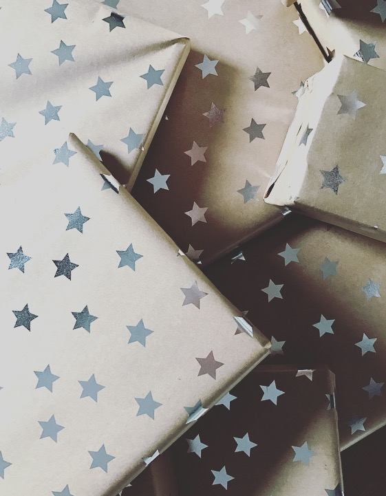 Wrapped presents - I'm slightly smug 😉