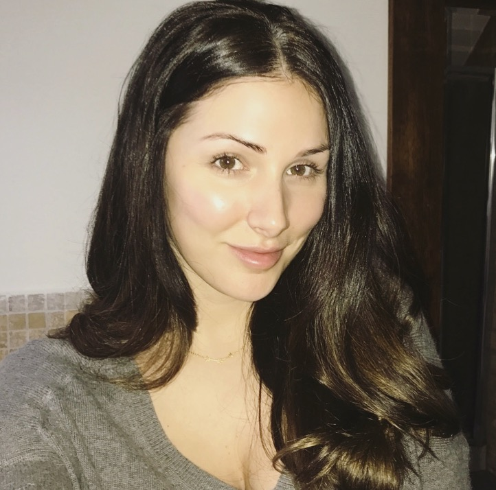 No makeup selfie - with the help of a pretty bright flash nonetheless! Seeing a real difference in my skin.