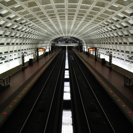 Metro station in Washington, D.C.