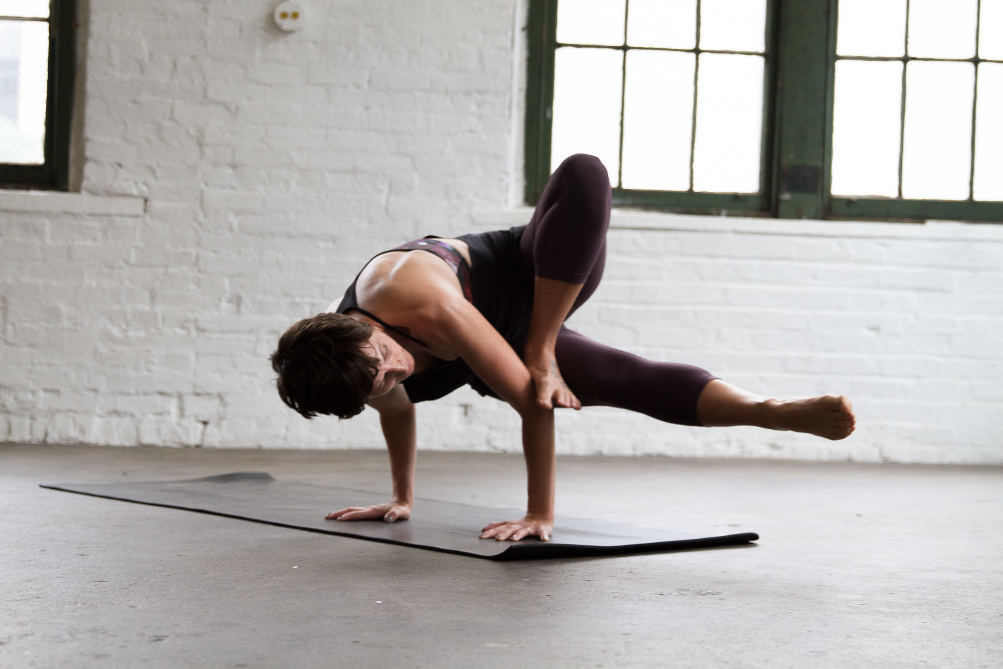 Here's a complex yoga pose that comes easy to me. It's not something I worked for.It's simply a pose that was offered and my body could execute all of the demands required. There are less complex poses that I cannot do. Such is movement ;)