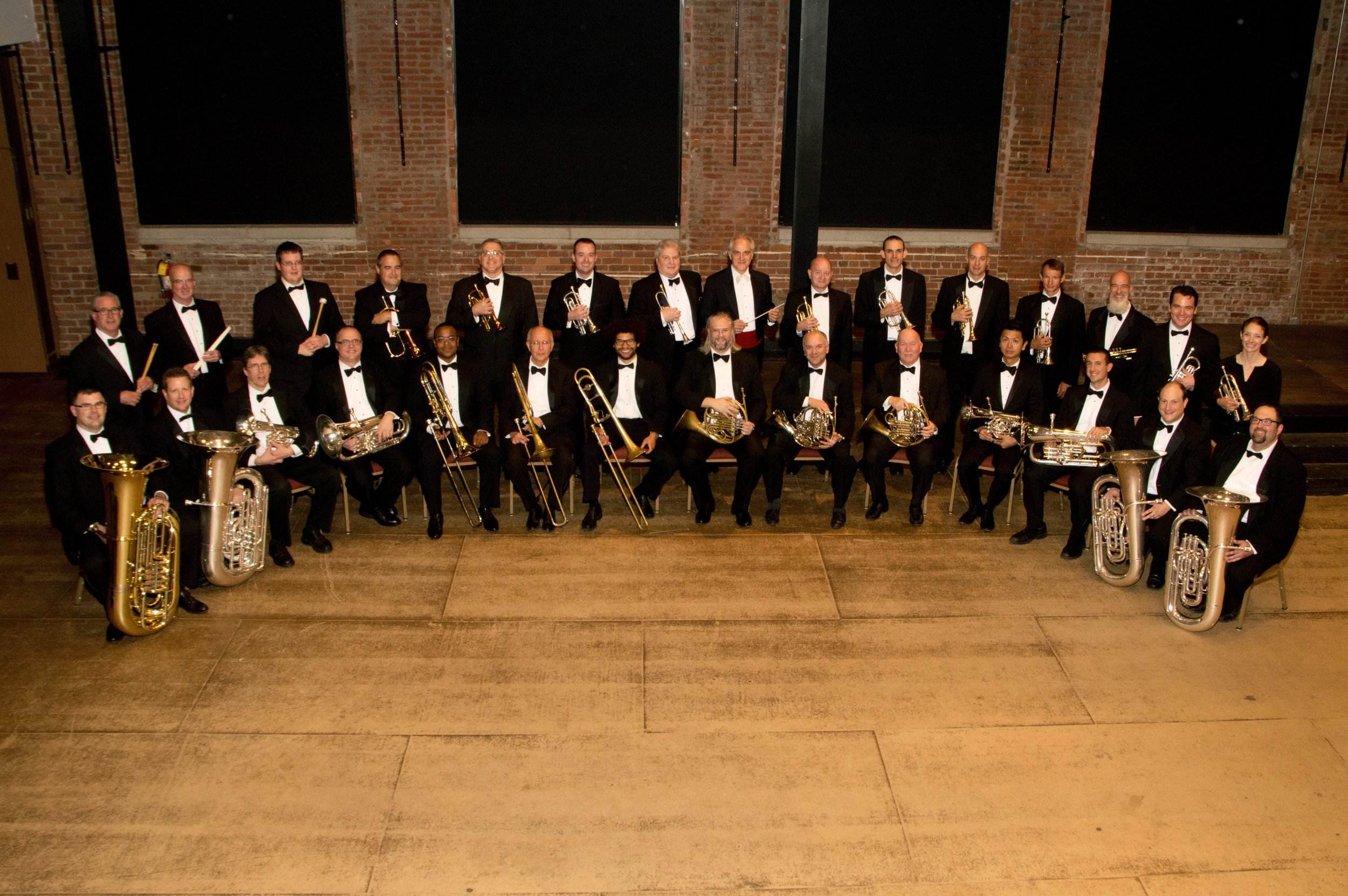 River City Brass with conductor James Gourlay