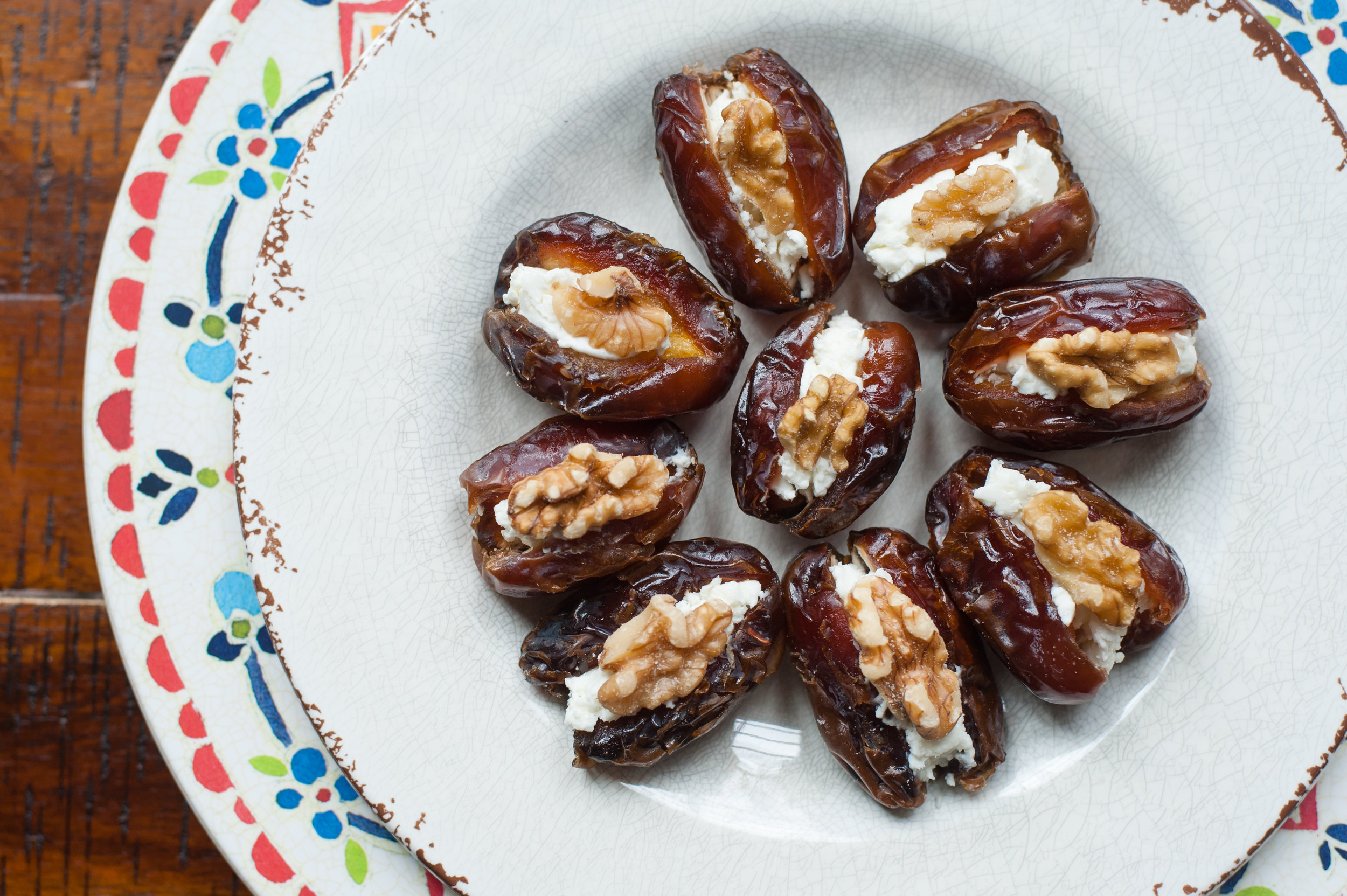 Stuffed Dates Two Ways
