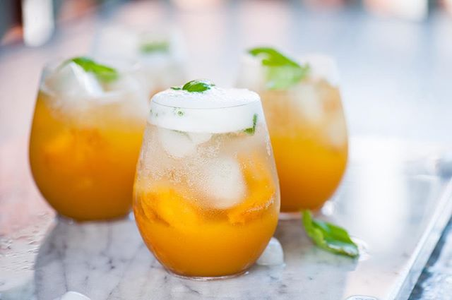 Drink up S u M m E r with this delicious sangria! It's full of peaches, lime, basil, and sparkling white wine! {follow the link in profile for recipe} . . . . #summer #summertime #summerdrinks #thetasteofsummer #thetasteofhome #carolinapeaches #southcarolina #southcarolinapeaches #peaches #food52 #foodphotographer #nycfoodphotographer #foodstyling #nycfoodstylist #nyc #summerinthecity #southernliving #bonappetit #bonappetitmag #mywilliamssonoma #thefeedfeed #nycfoodie #summerdrinks #thekitchn #surlatable #foodandwine