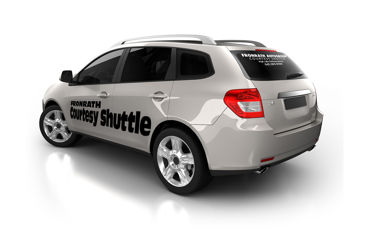 Courtesy Vehicle Window And Door Stickers And Graphics Windshield Lettering Autowrite Net