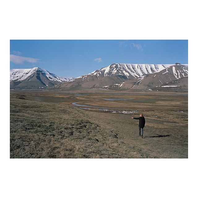 Svalbard location scout.