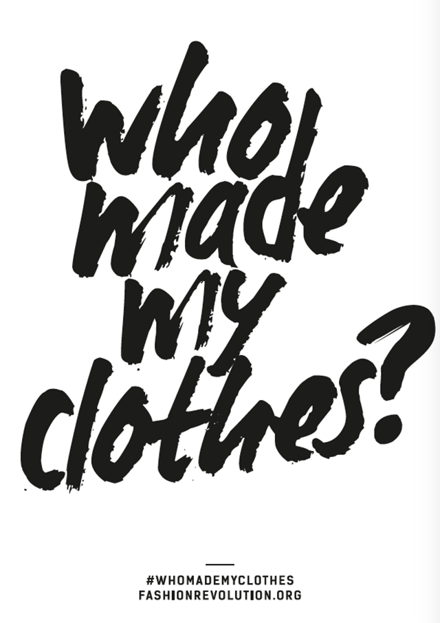 Fashion Revolution podcast: who made my clothes?