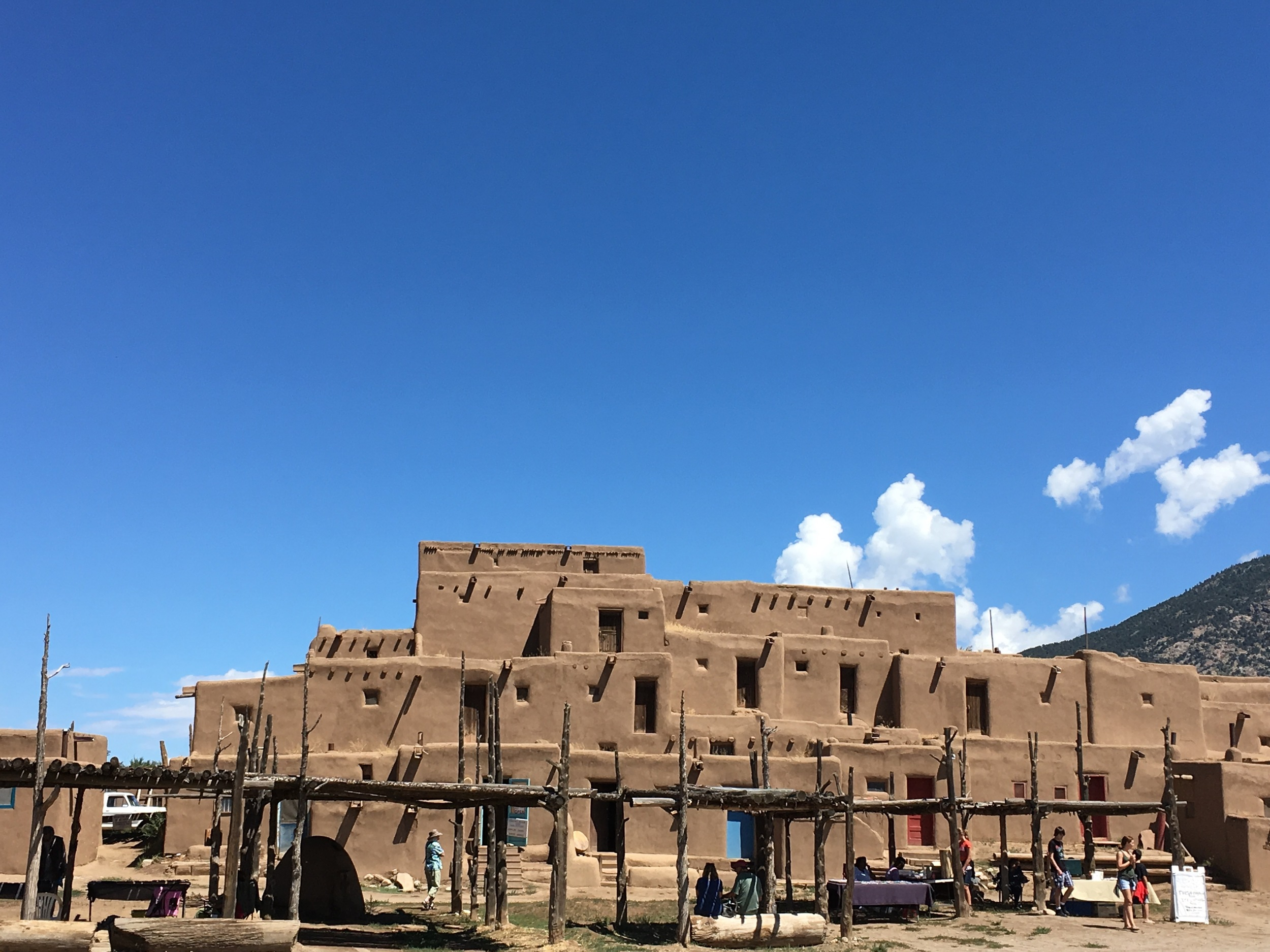 Taos Pueblo, continuously occupied for over 1000 years