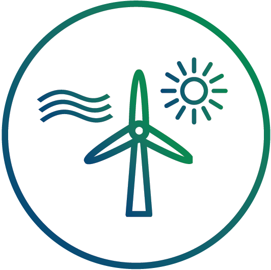 The Clean Energy Link's portfolio consists of three new wind and four new solar farms, totaling 677 MWs, spread over 42,600 acres.