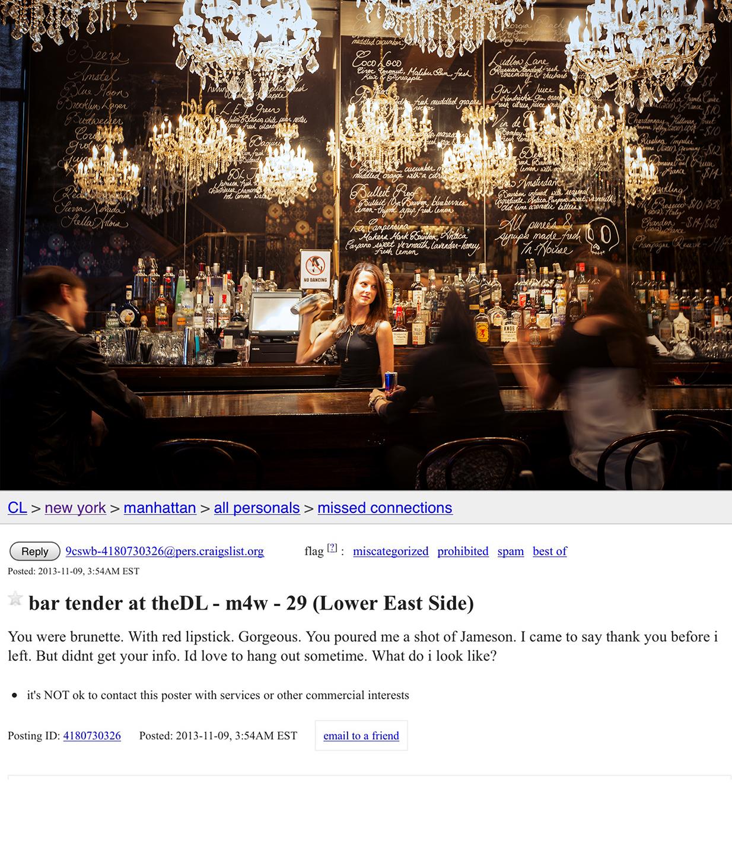 bartender at theDL