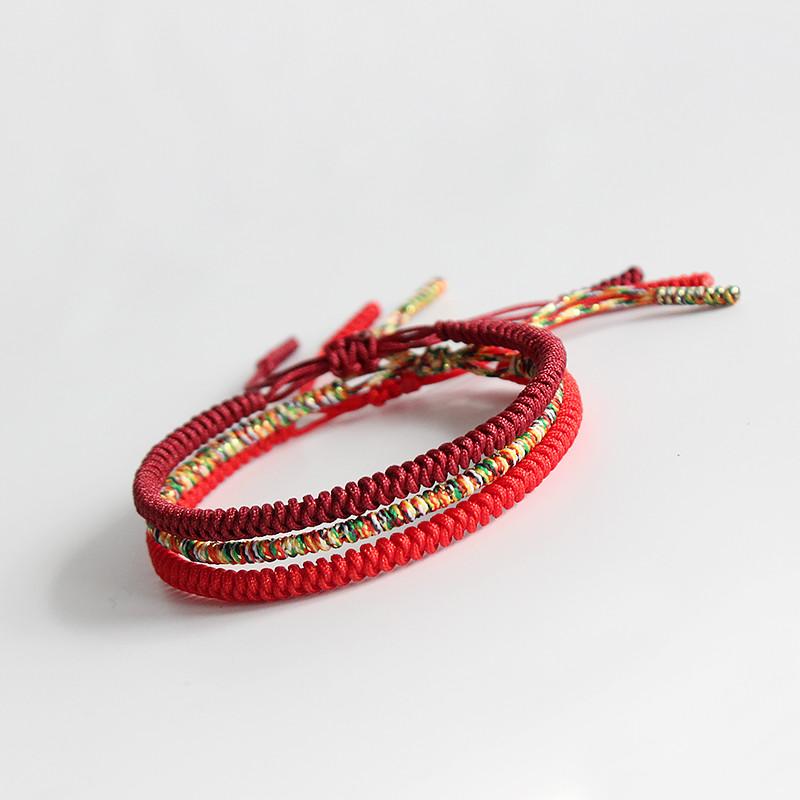 Kundalini Lucky Rope Bracelets