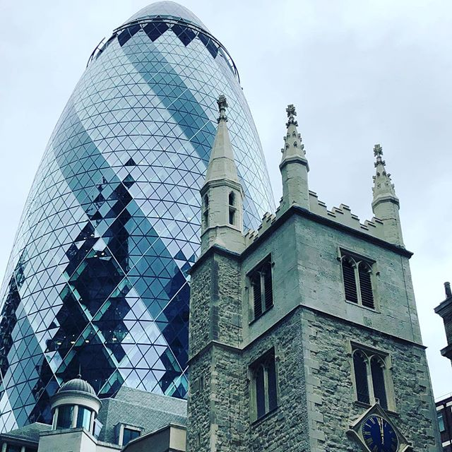 Old & New. ❤️London.
