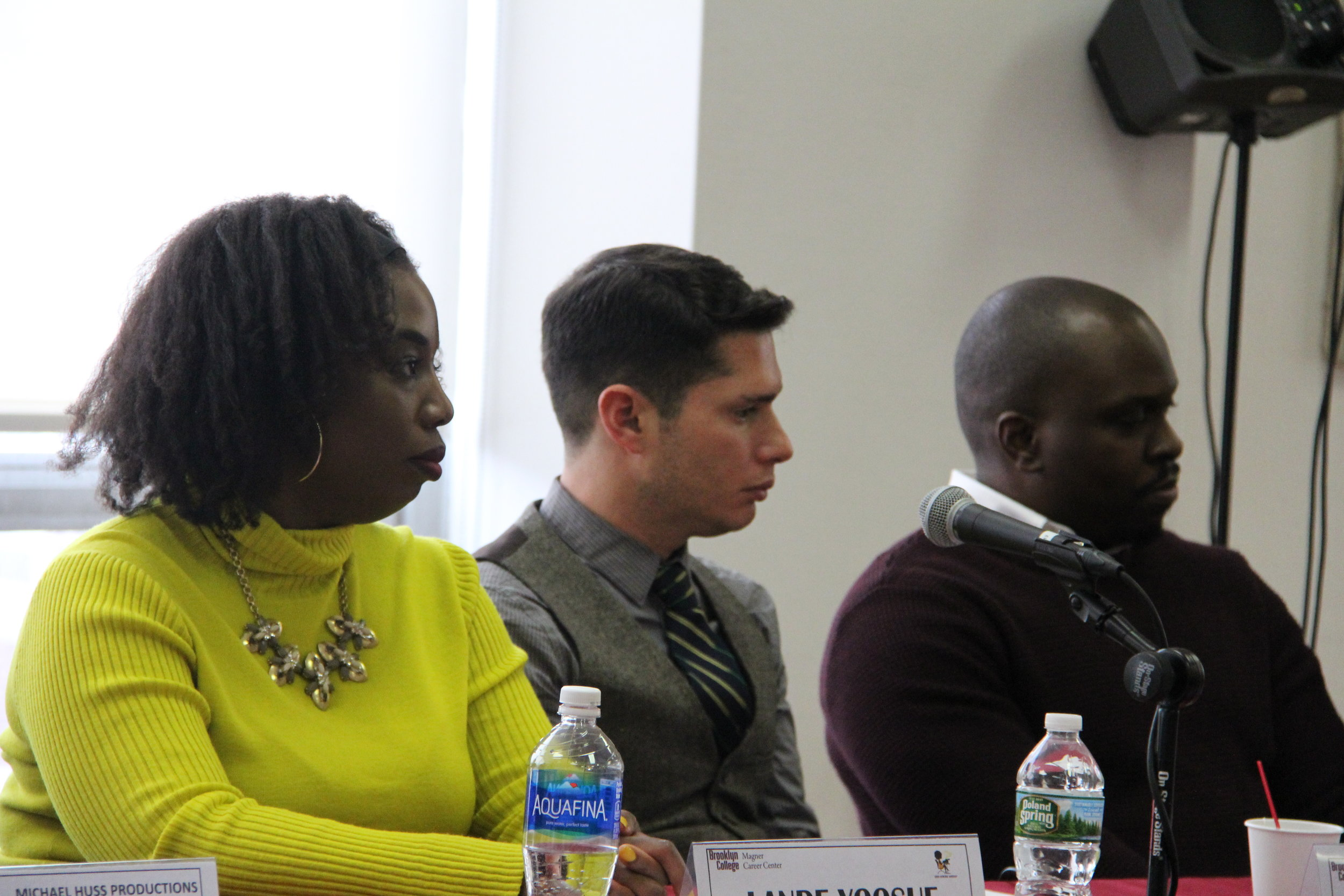 MAGNER CENTER ALUMNI PANEL - Brooklyn, NYC - Lande was a co-panelist for the Magner Center career day event at her alma mater Brooklyn College. She discussed her experience as a filmmaker along with other established professionals.