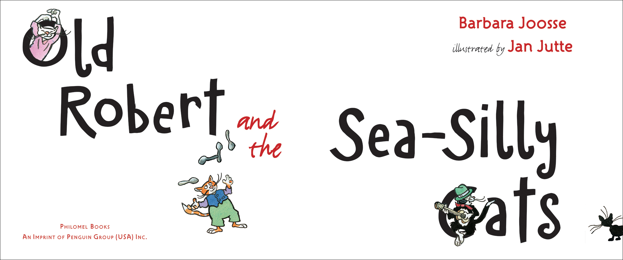 Old Robert&Sea Silly Cats title spread.jpg
