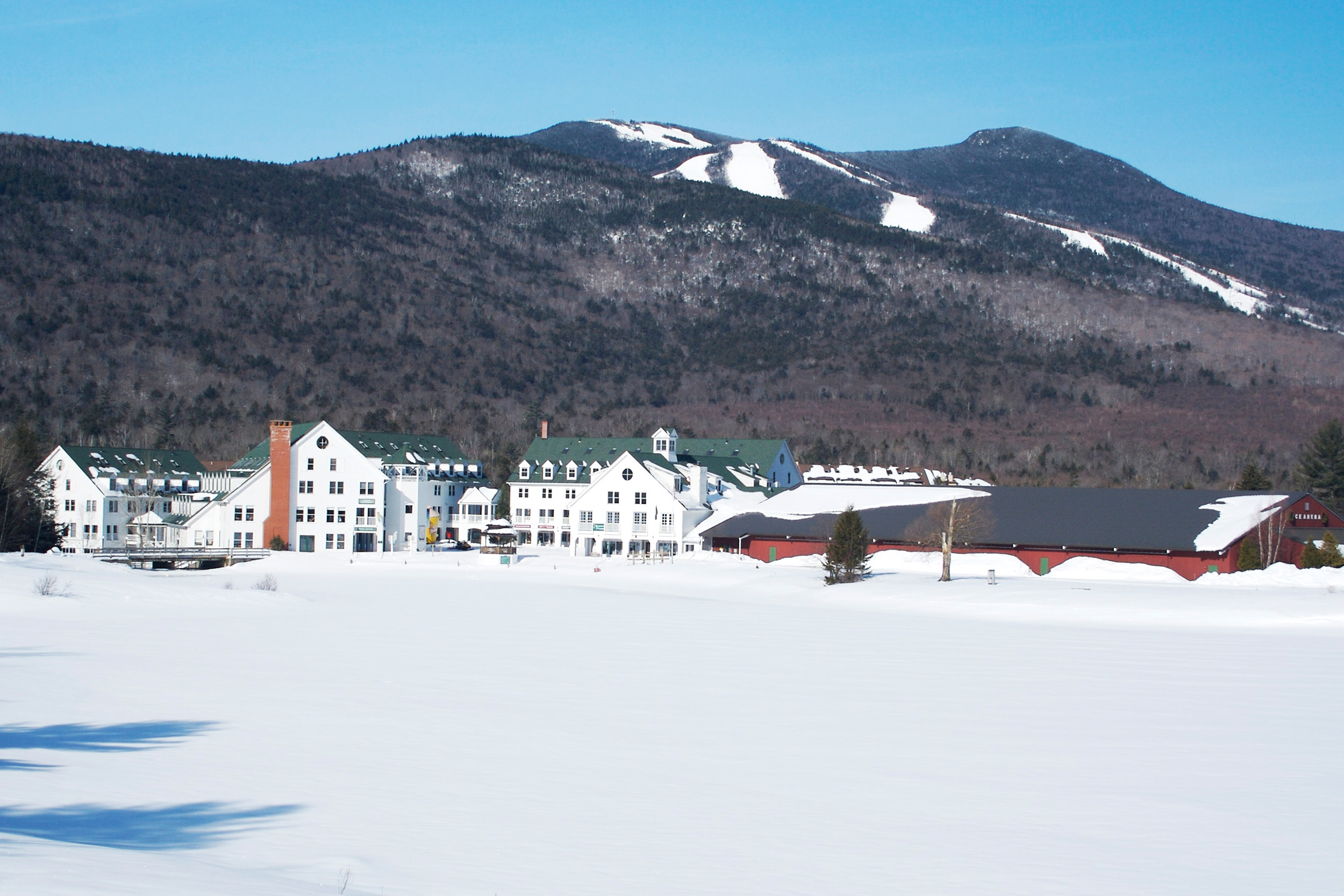Work in the middle of the beautiful White Mountain National Forest at Waterville Valley Resort