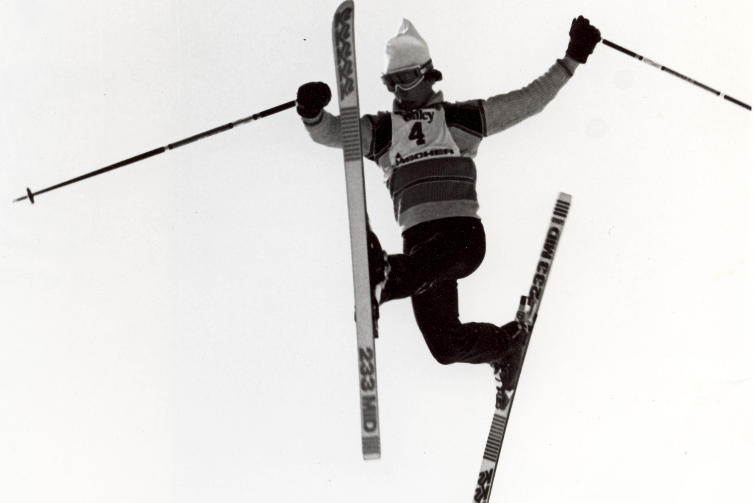 Freestyle skiing in the 70s