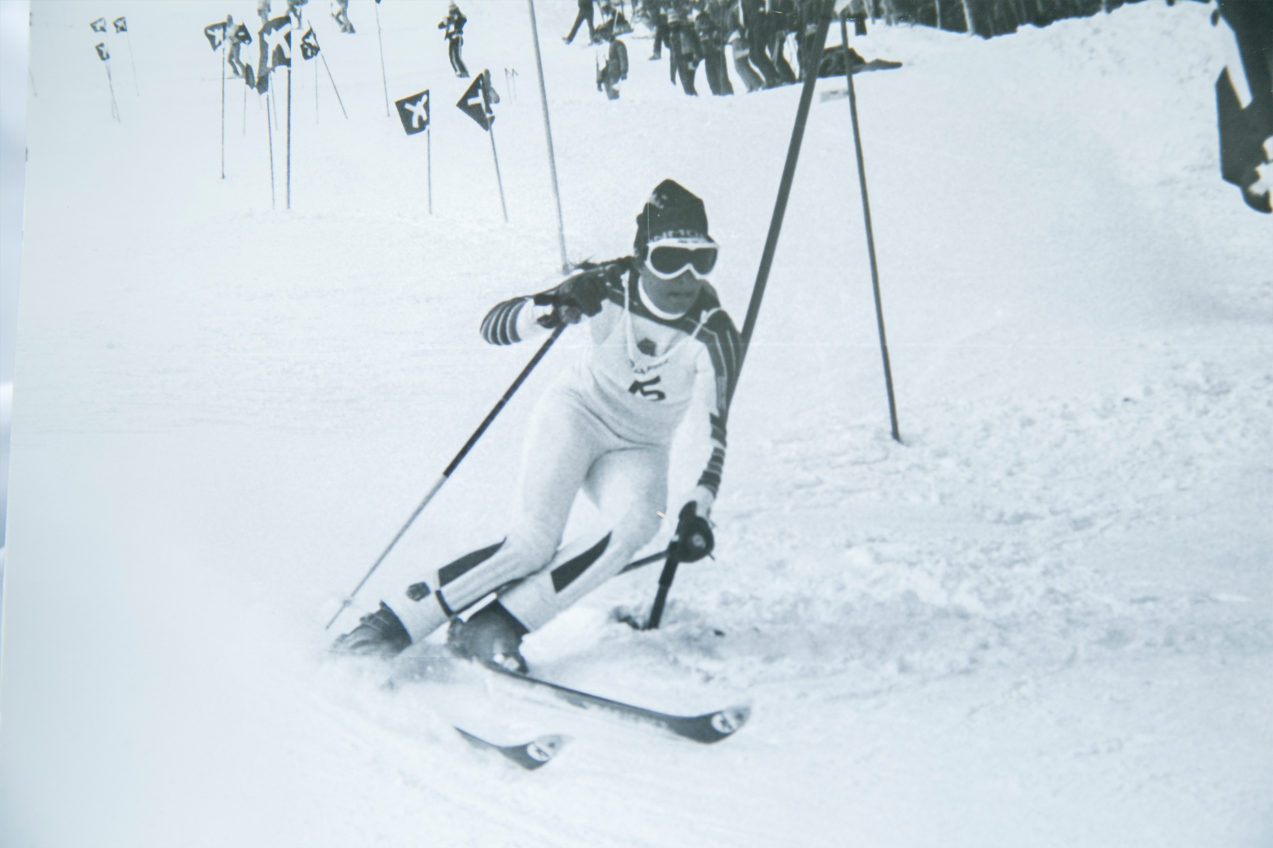 World Cup ski races in the 80s on World Cup