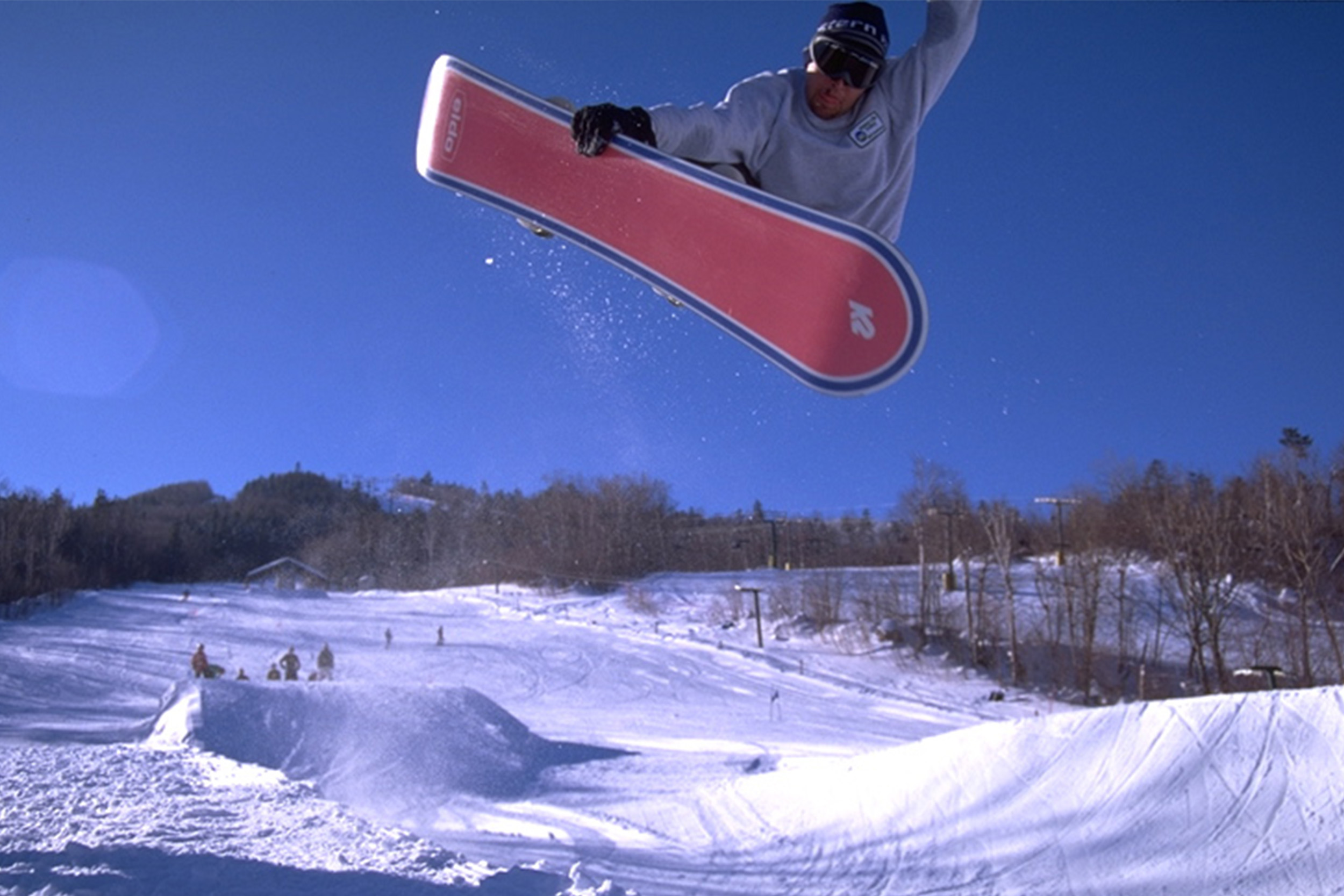 The first snowboard park in NH
