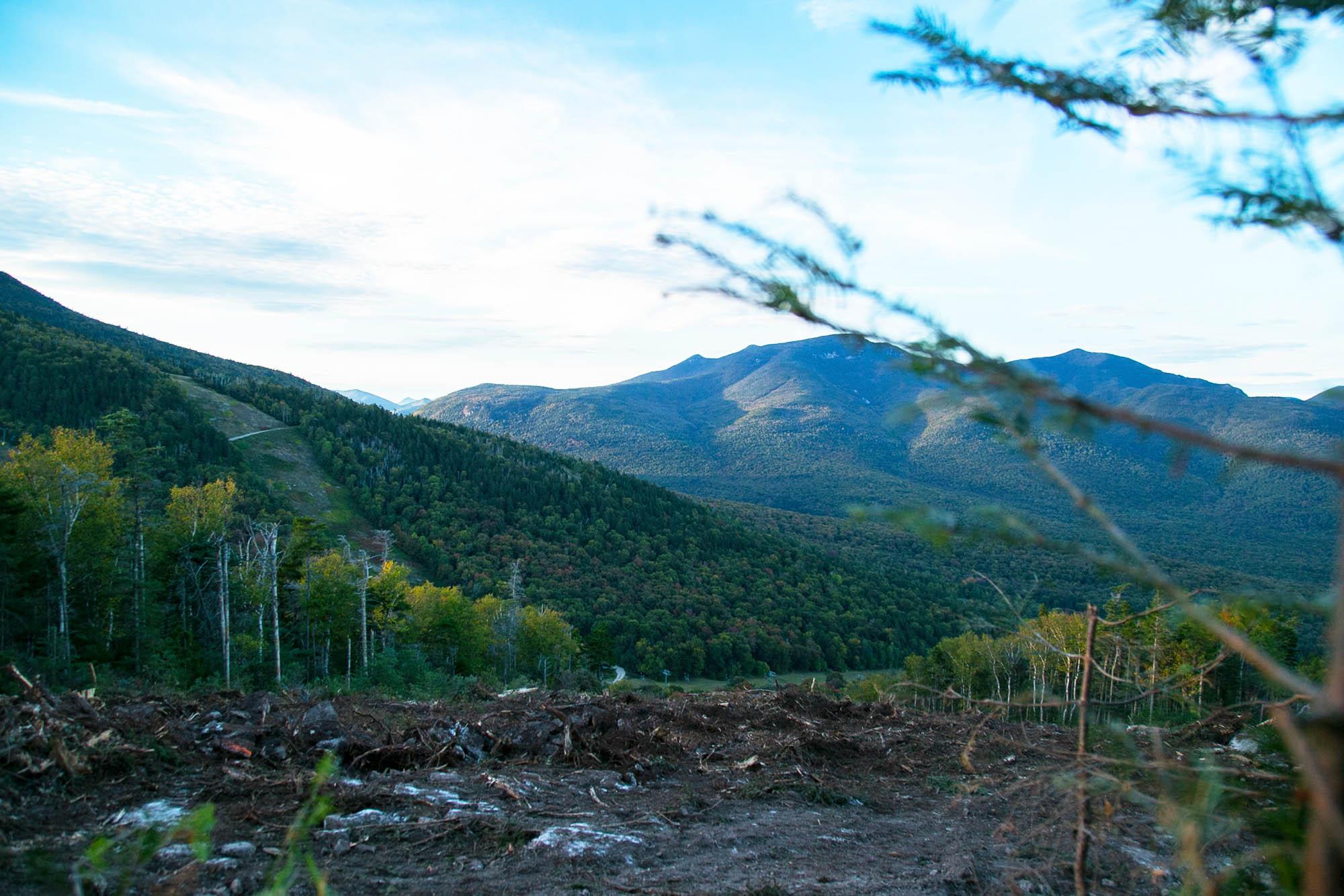Construction on Green Peak has begun