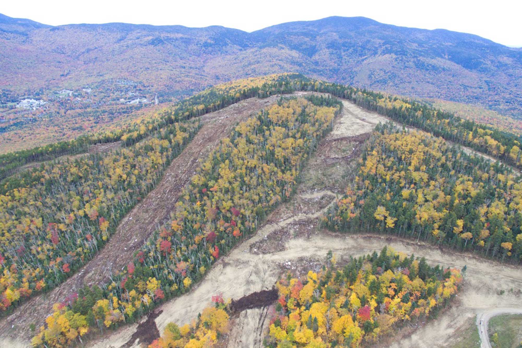 Green Peak trails have been cut!