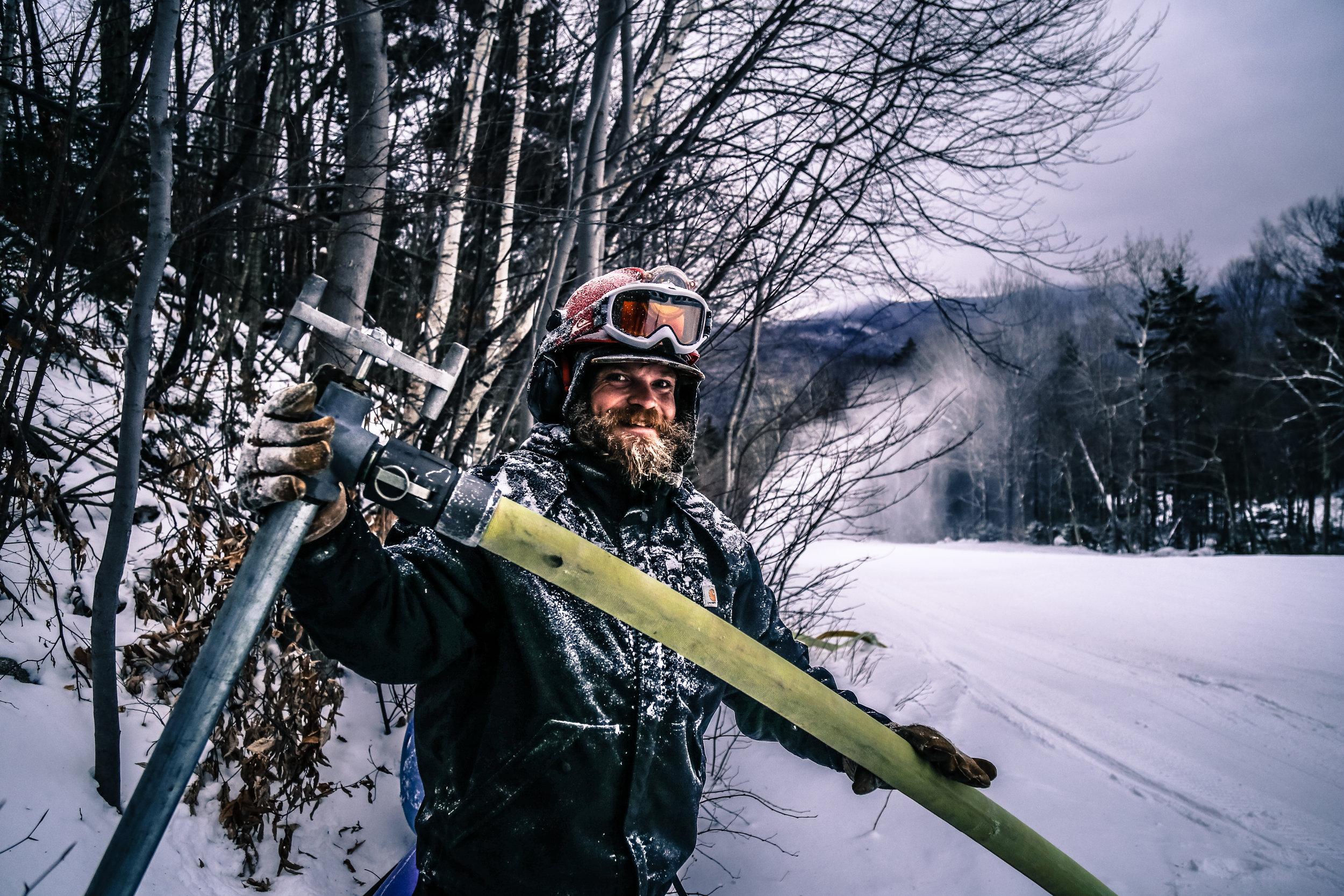 Waterville Valley snowmaker