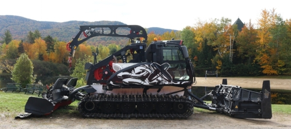 The new Prinoth Bison X Winch Cat