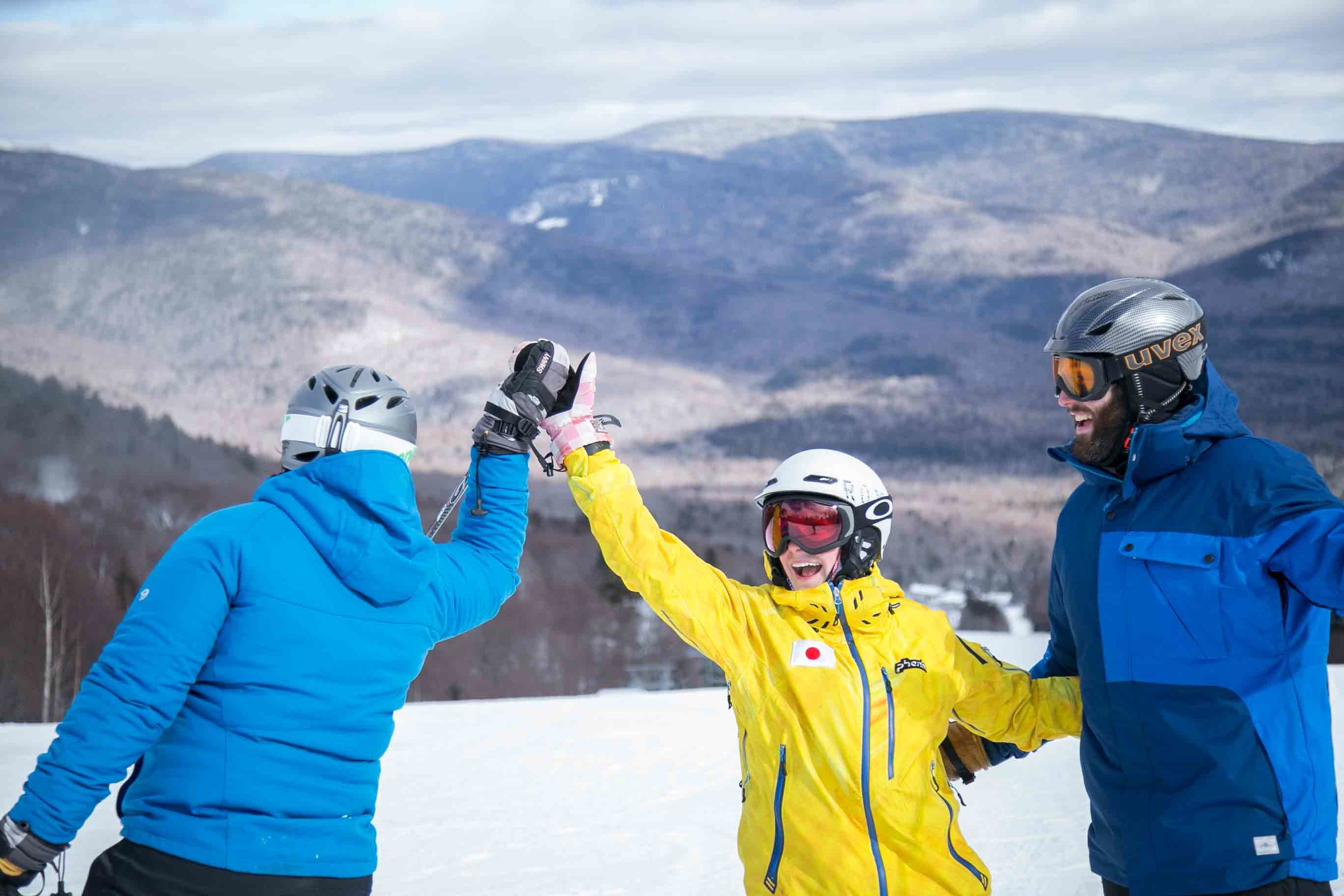 Make memories with friends at Waterville Valley Resort