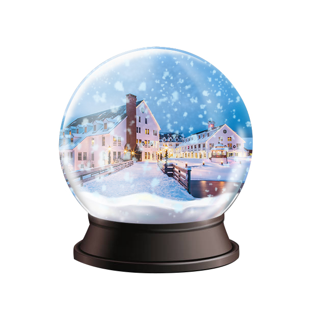 Waterville Valley is our own little snow globe
