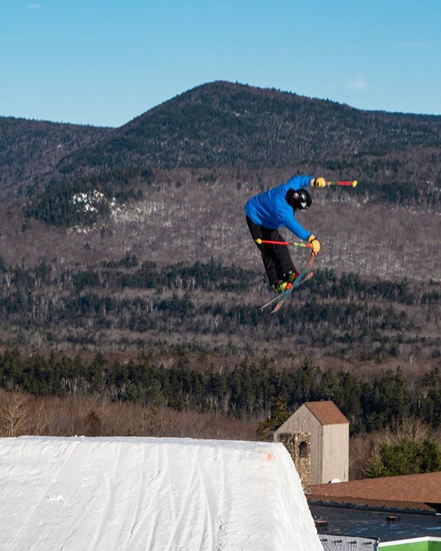 Sending it right over the base lodge! #watervillains