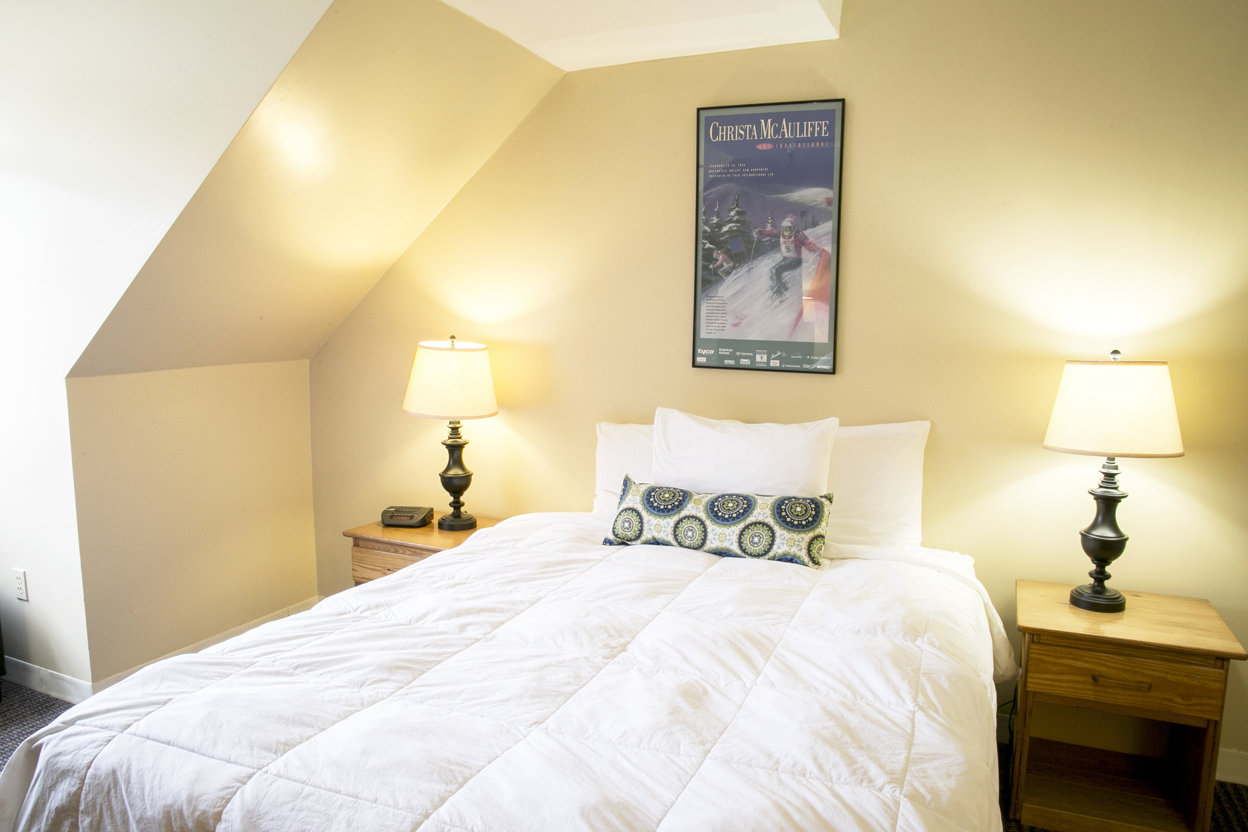 Town Square Condo's Bedroom
