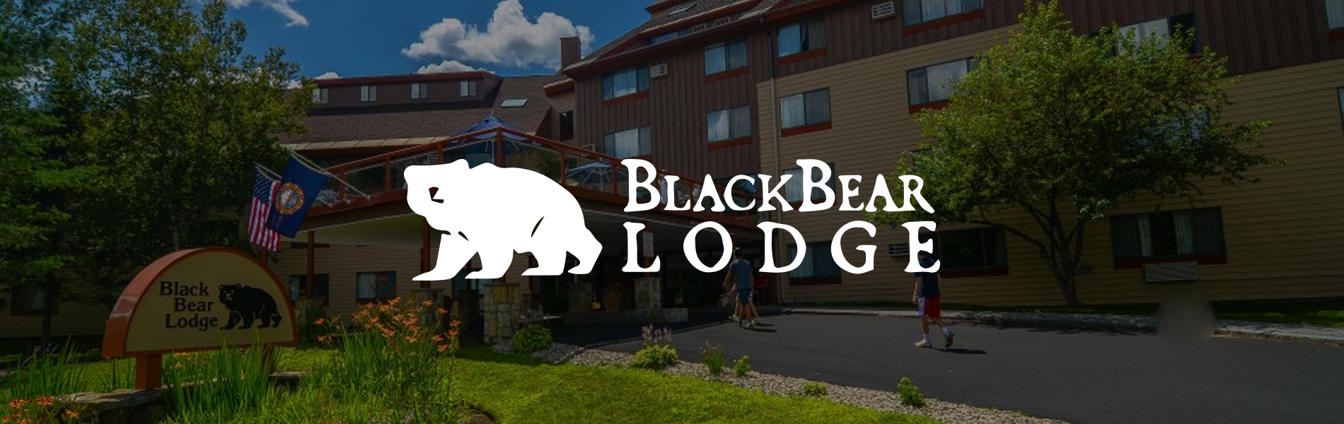 Choose a hotel style room or a condo at the Black Bear Lodge
