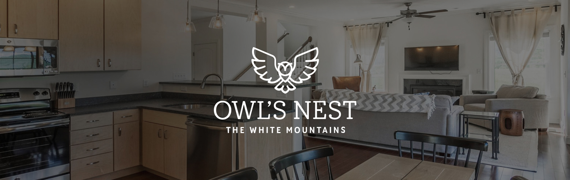 Enjoy the luxury of The Owl's Nest cottages located a short drive away from Waterville Valley Resort